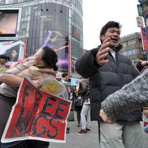 Free Hugs Taiwan