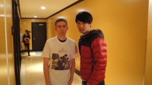Gary Yang and me