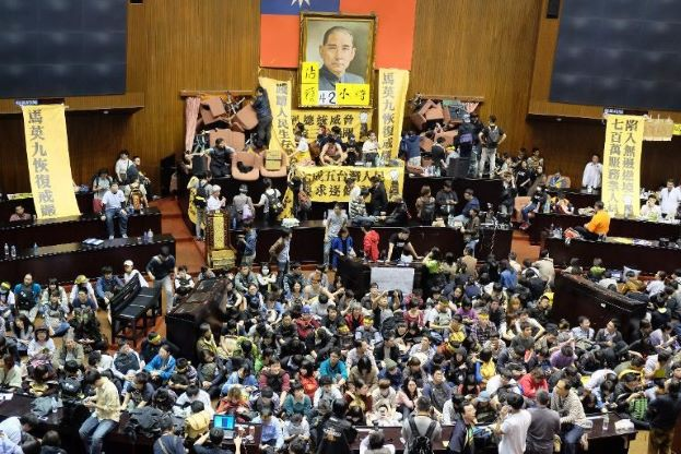 Taiwan Protests for Freedom