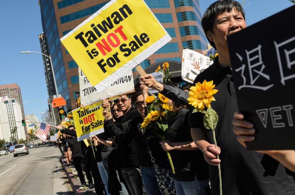 Sunflower Influence of Taiwan Elections